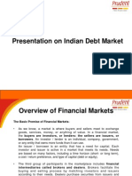 Presentation on Indian Debt Market