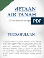 Pemetaan Air Tanah