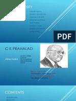 C K Prahalad Assignment