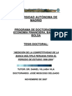 Tesis Doctoral Banca Peruana