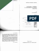 Fieldhouse, D. K . Economía e Imperio (Caps . 1-4 y 13)