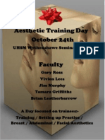 Flyer for Aesthetic Day