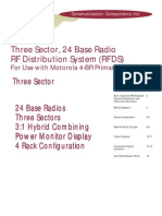 Three Sector RF Distribution System