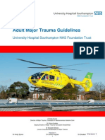 UHS Adult Major Trauma Guidelines