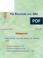 Main Features of Electricity Act 2003 (1)