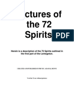 Pictures of the 72 Spirits