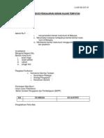Templat Rekod Pengajaran Harian Kajian Tempatan
