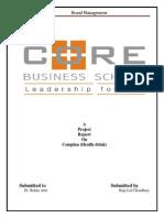 rajubrandcomplanreport-131026021002-phpapp01
