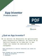 01 App Inventor - Primeros Pasos I