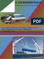 Design of LPG Mounded Bullet