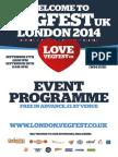 VegFest London Programme