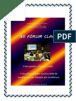XII Fórum CLAC_livro