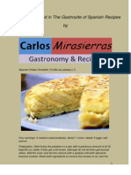 Varied Selection of Recipes Carlos Mirasierras