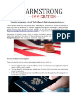 Armstrong Immigration Lawyer in Edmonton