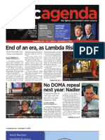 dcagenda.com - vol. 1, issue 4 - december 11, 2009