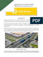 Proyecto Nueva Red Vial de Panamá