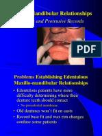 12. Centric & Protrusive Record