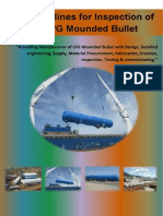 Guidelines for Inspection of LPG Mounded Bullet