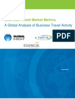 Business Travel Market Metrics a Global Analysis of Business