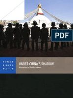 Under China's Shadow