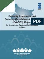 Bihar CA CDS Report