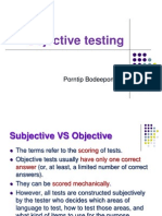 Objective Test