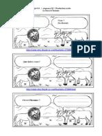 Les Fiches Du Projet1 Lire Et Écrire Une Bd. 5ap