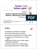 EG - Fisica I - GIERM - Temas 7 y 8 - Solido Rigido - 12-13