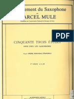 53 Estudios Marcel Mule Vol.1