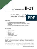 Lab II Prac 1 Med.multimetro