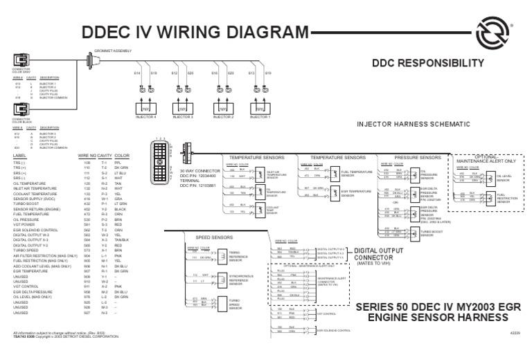 Ddec Iv Wiring Schematic For - Wiring Diagrams Show Jake Ke Wiring Diagram Ddec Iv on