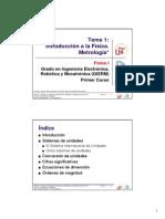 EG - Fisica I - GIERM - Tema 1 - Introd y Metrologia 12-13