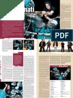 Virgil Donati Feature Drumscene Magazine 2010