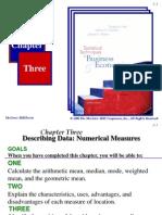 Chapter 03 Describing Data