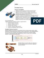 03 Sensörler Ve Dönüştürücüler Ders Notları Hareket Sensörleri