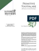 Primitive Toothcare Zine Zzine