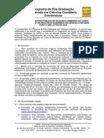 Edital 2014 Versao Final Publicada 0710.2013 - Mestrado Em Contabeis