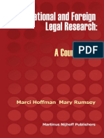 Course Book on International Legal Research