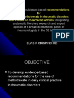 Multinational Evidence-based Recommendations For