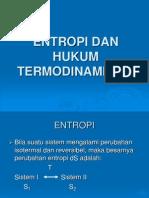 Entropi Dan Hukum Termodinamika II