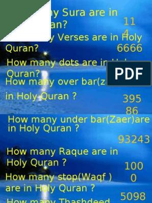 Use Full Info   Surah   Quran