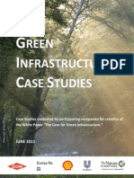 Case Studies for Green Infrastructure