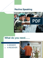 Effective Speaking