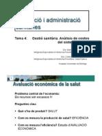 B.4.4 Tema 4 Analisis de Costos Del Sitema Sanitari