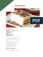 Pavê Ferrero Rocher
