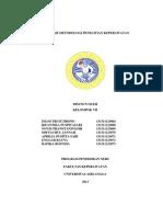 makalah METodologi riset