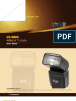 Bolt vs-560S TTL Flash User Manual