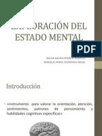 Exploración Del Estado Mental Psiquiatria