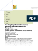 The Electronic Journal for English as a Second Language