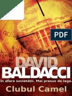 Baldacci, David - [Camel Club]  - Clubul Camel